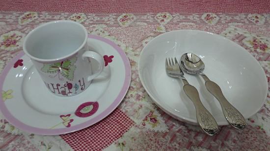 【hola】- 儿童可爱餐具-- 爱上吃饭罗